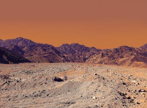 Ilmainen kuvapankkikuva tunnisteilla aavikko, appelsiini, autiomaa, geologia