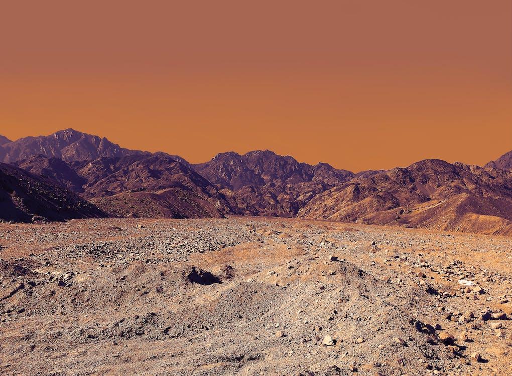 denní světlo, geologie, hory
