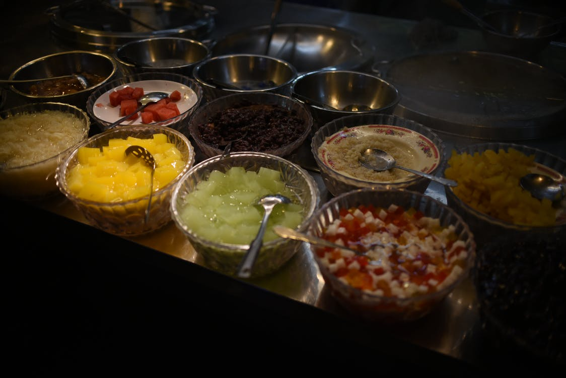 Azië, geschoren ijs, lehua night market