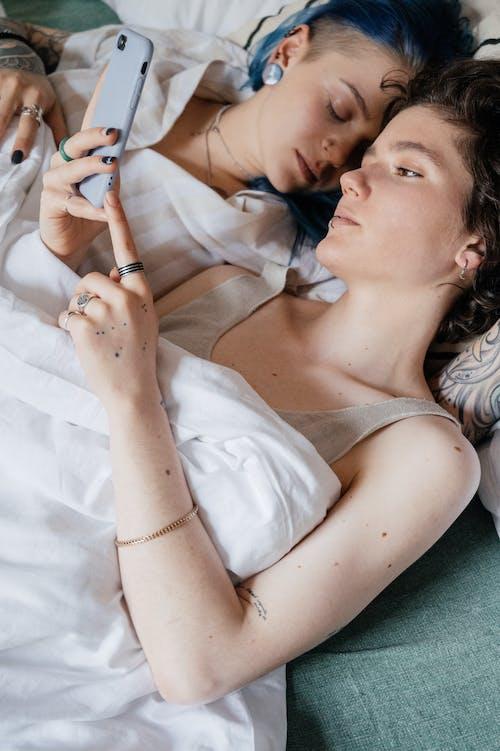 คลังภาพถ่ายฟรี ของ LGBT, การพักผ่อน, คู่