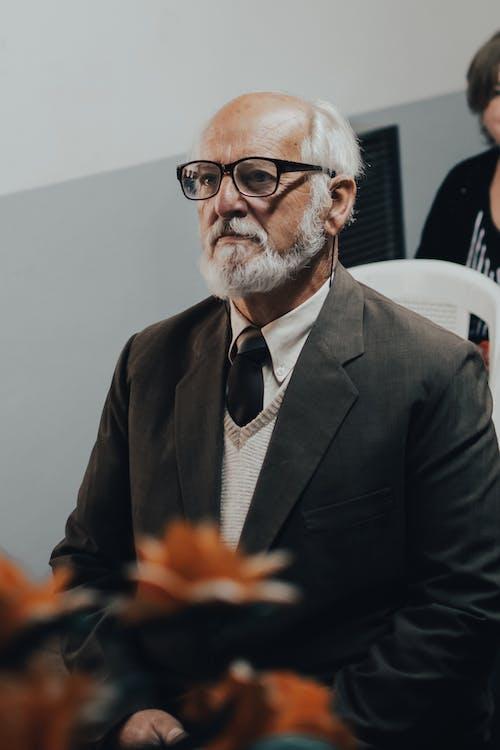 あごひげ, シニア, フォーマルウェアの無料の写真素材