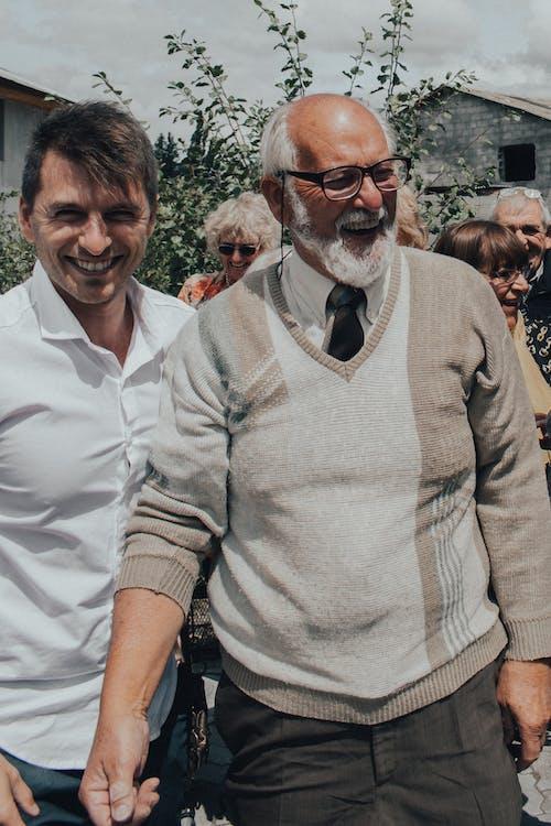 あごひげ, シニア, セーターの無料の写真素材