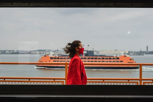 Free stock photo of adult, boat, bridge