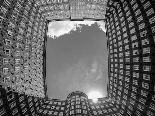 Kostenloses Stock Foto zu architektur, himmel, hoch schauen