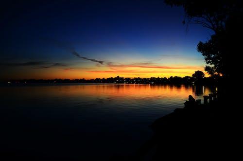 Kostnadsfri bild av gyllene sol, himmel, kväll, kvällssol