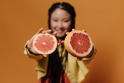 orange_background, インドア, グレープフルーツの無料の写真素材