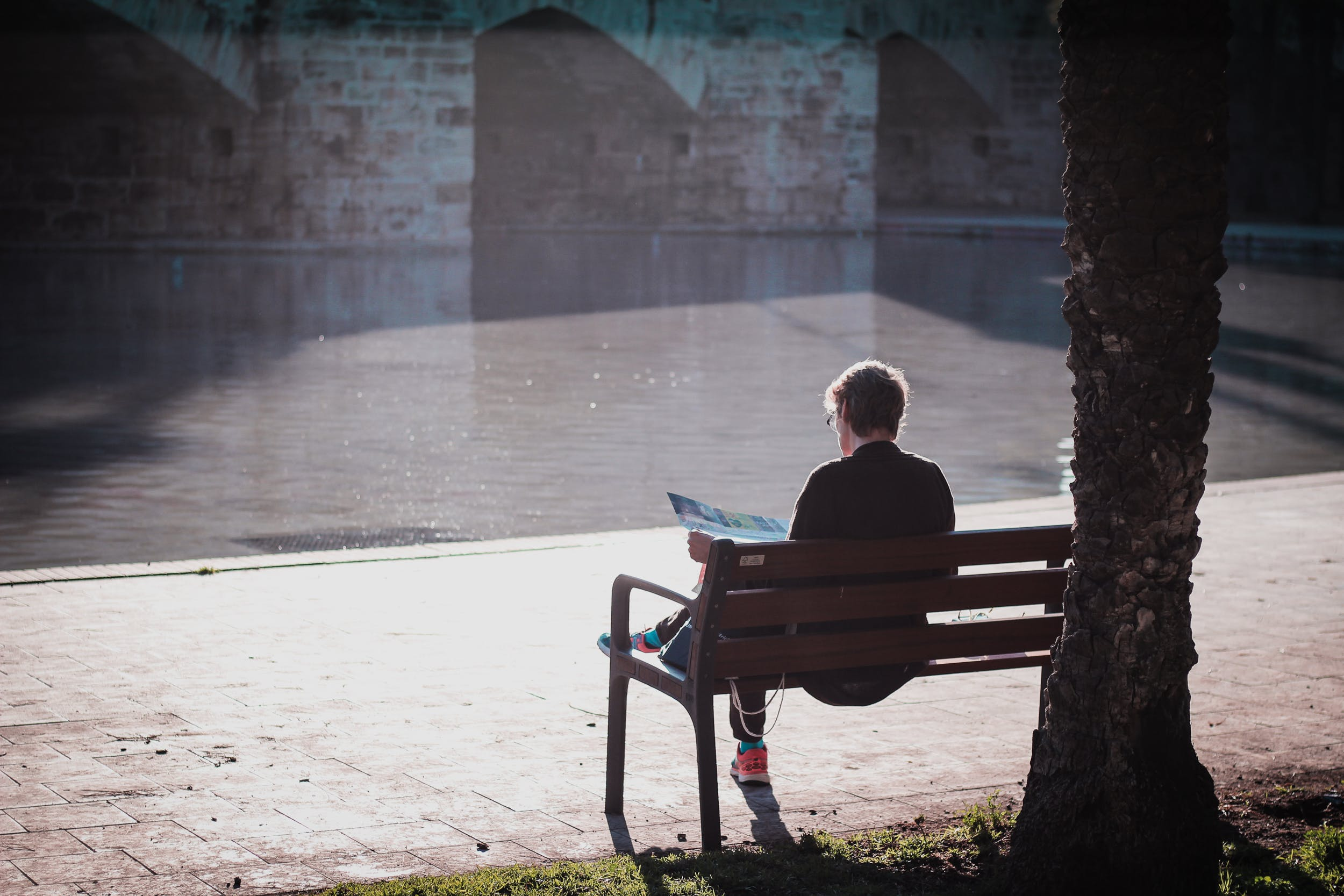 Free stock photo of map, meditation, peaceful, river