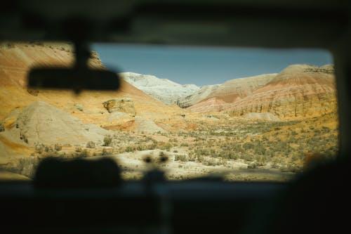 Бесплатное стоковое фото с ветровое стекло, горы, десерт, дневной свет