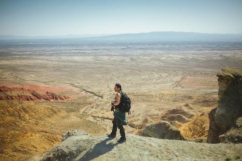 Foto stok gratis alam, batu, batu pasir, geologi
