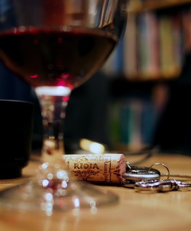 keys, red wine, rioja