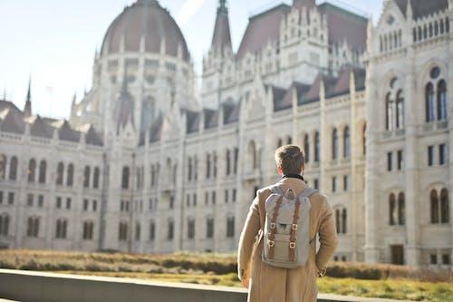 Foto profissional grátis de abrigo, arquitetura, atração turística, céu