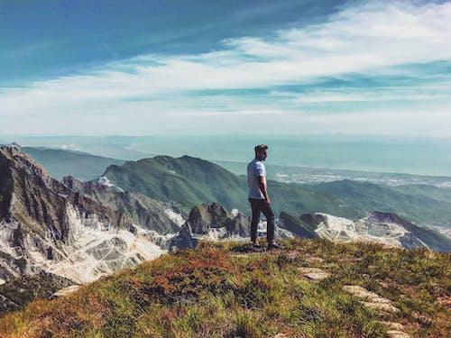 Ilmainen kuvapankkikuva tunnisteilla henkilö, ihminen, kallio, kesä