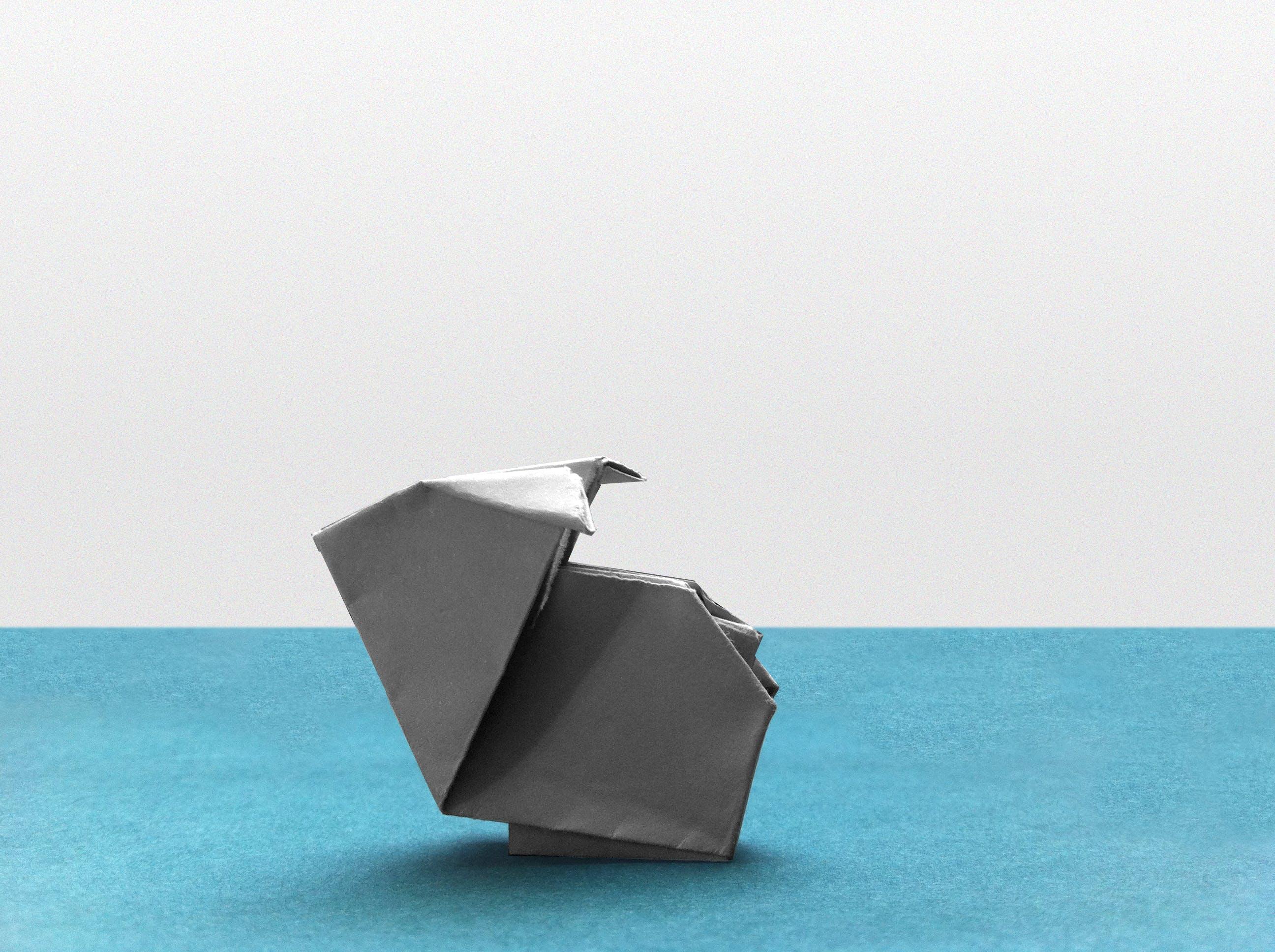 Free stock photo of rabbit, origami