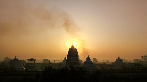 Free stock photo of sunrise, temple