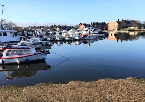 ドック, ボート, ヨット, 水の無料の写真素材