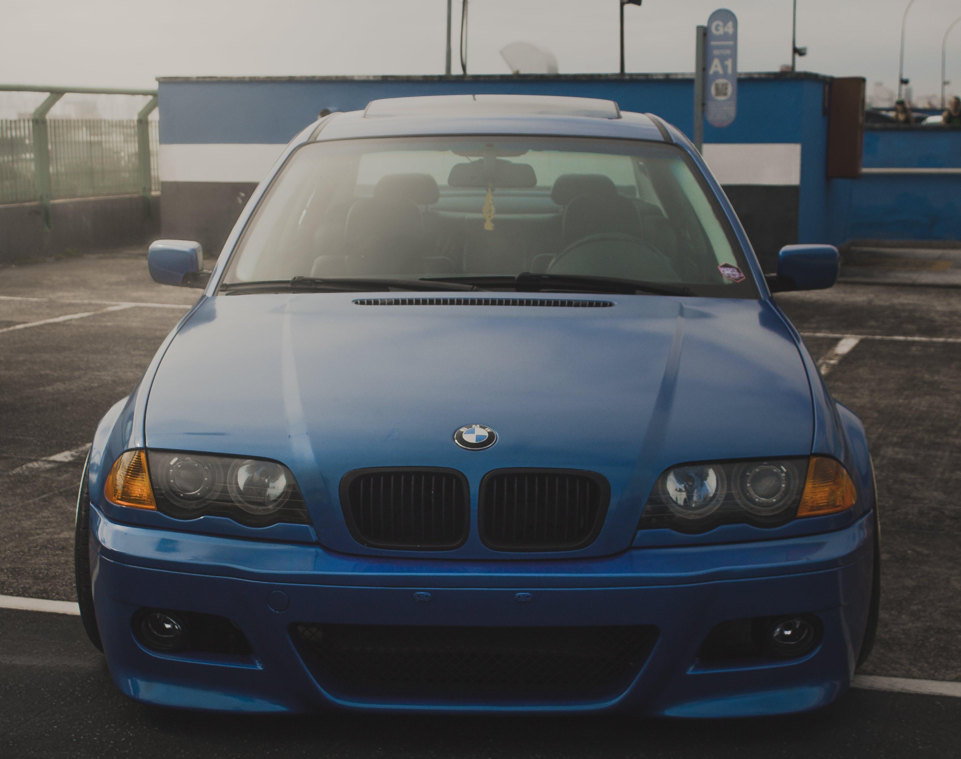 Free stock photo of 323i, automotive, bimmer, blue