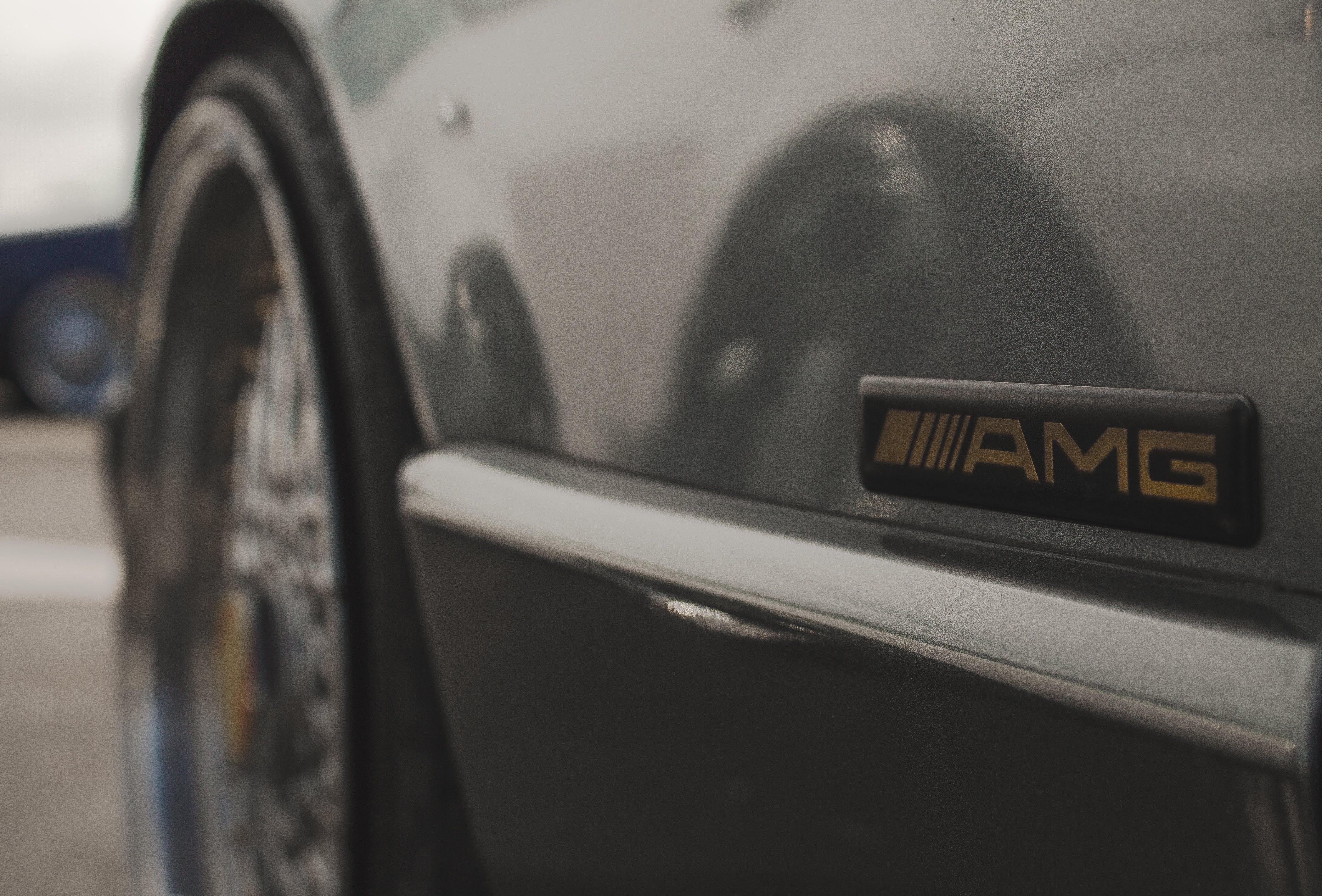 Free stock photo of amg, automotive, badge, car life