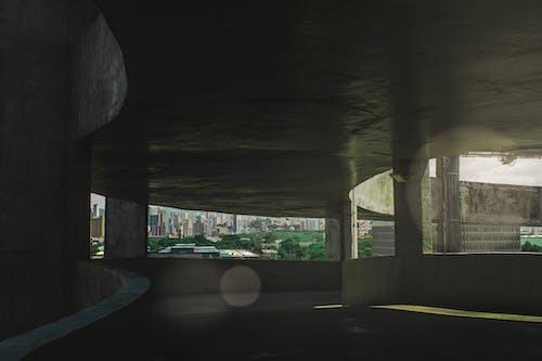 คลังภาพถ่ายฟรี ของ กลางคืน, ตอนกลางวัน, ตึก, ต้นไม้