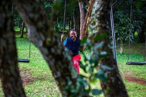Free stock photo of playground, swinging