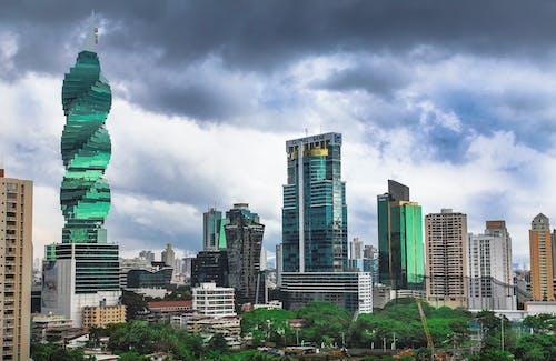 Foto stok gratis cakrawala kota panama, kota panama, Panama