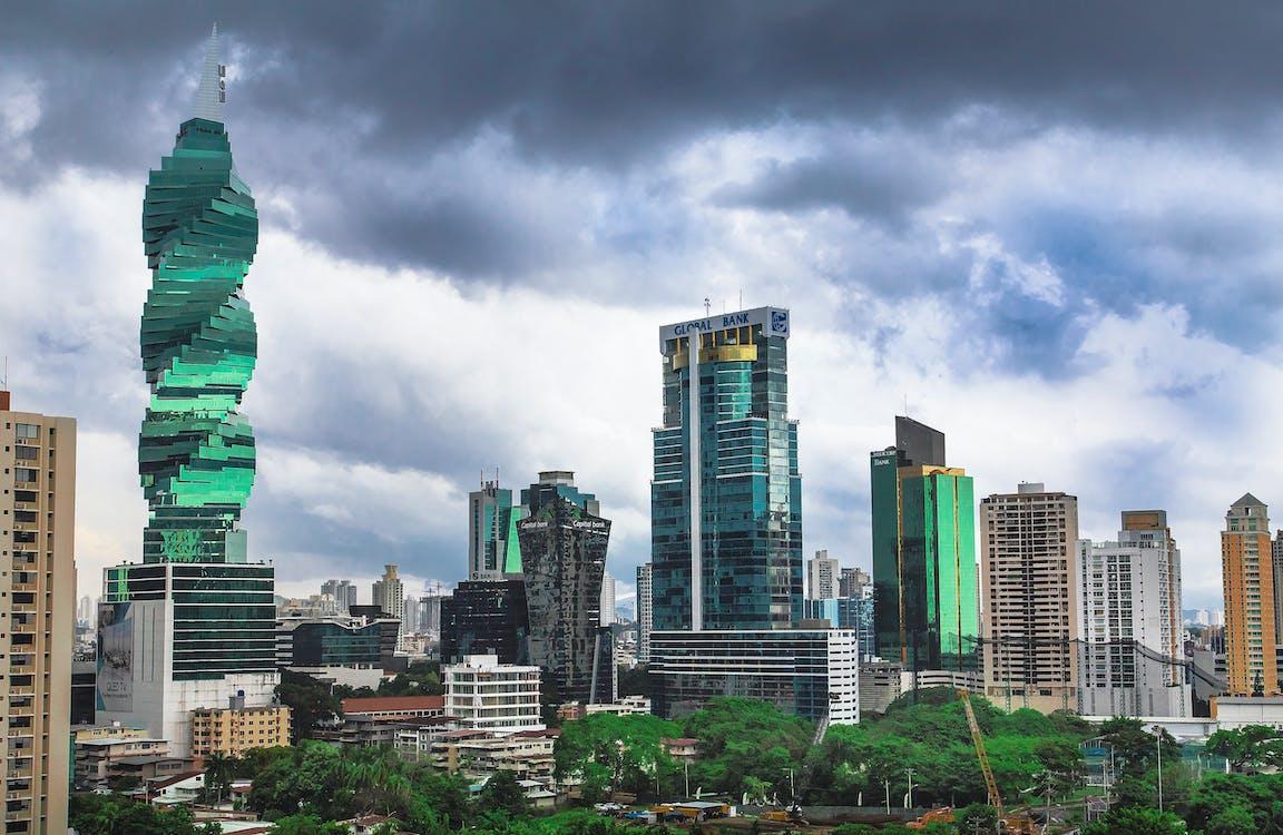 panama, panama city, skyline of panama city
