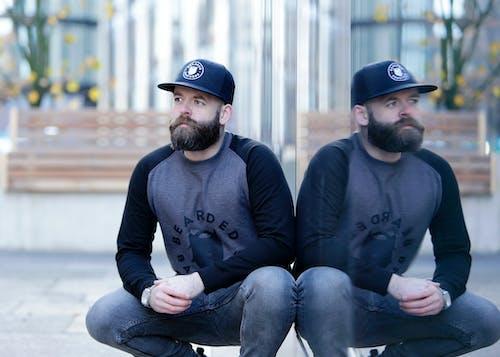 Free stock photo of bearded man