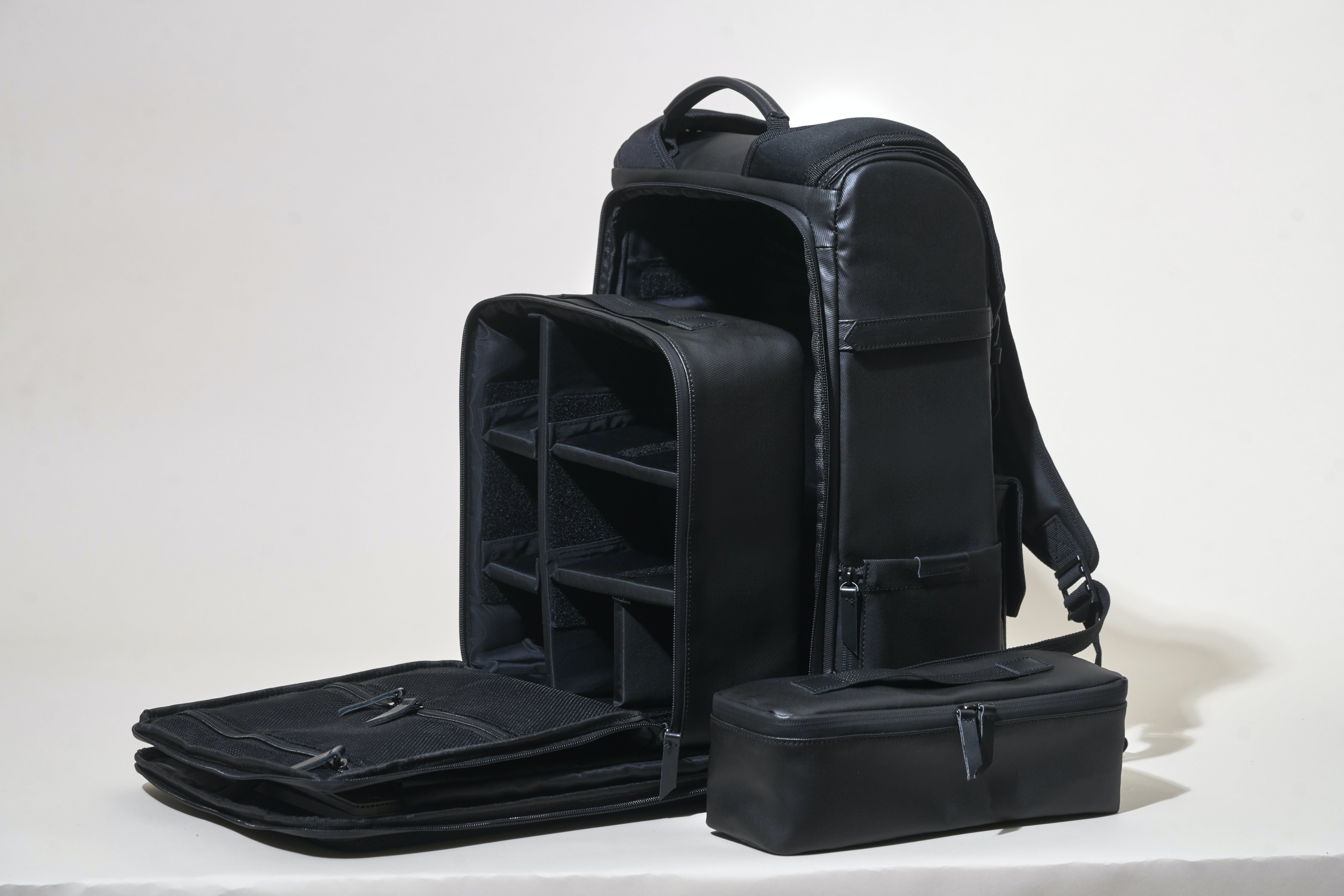 Black Organizer Bag Set