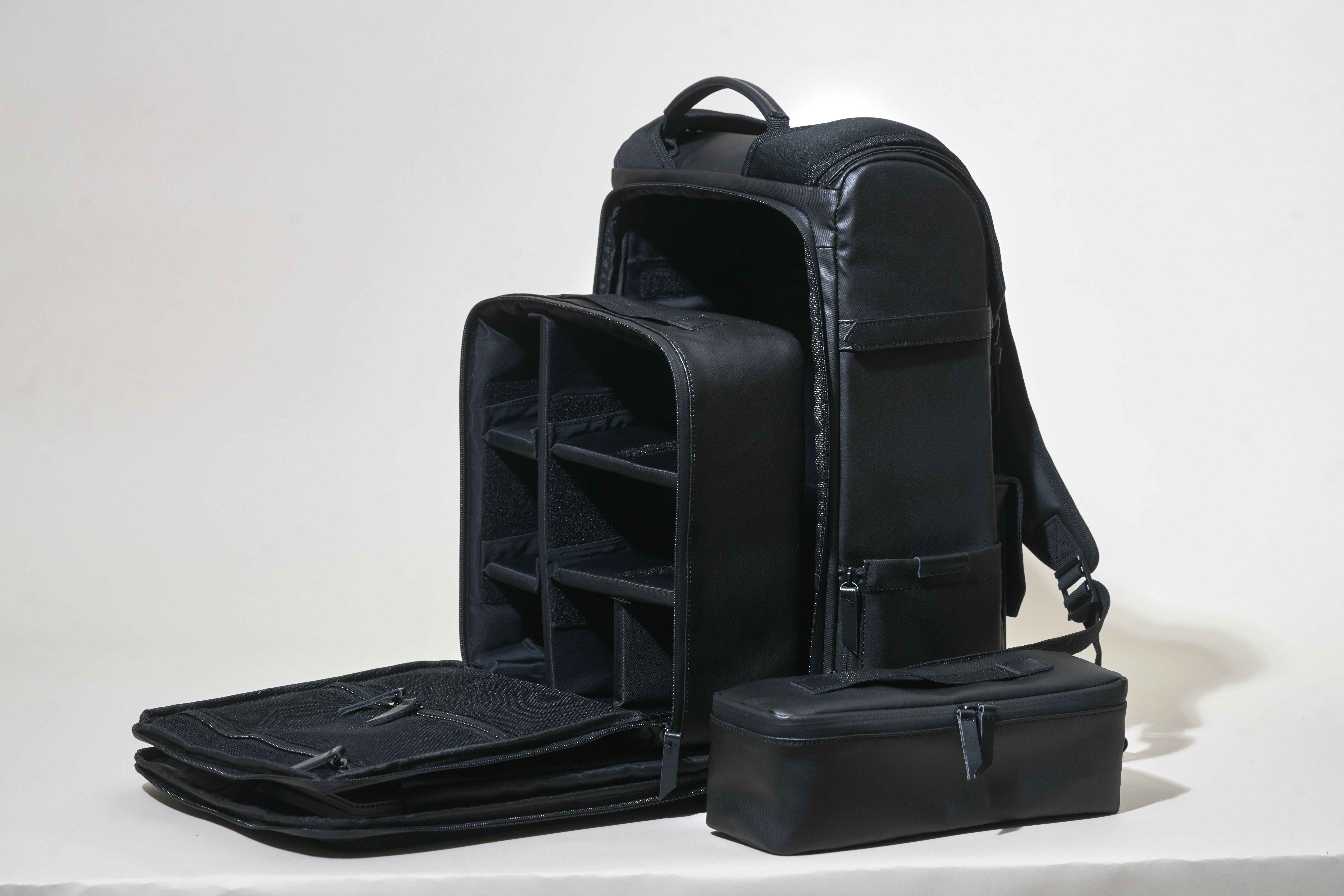 Black Organizer Bag Set