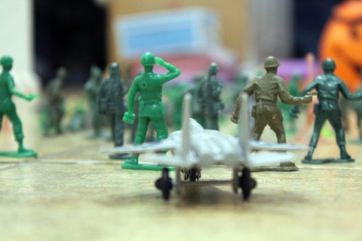 Free stock photo of toys, soldiers