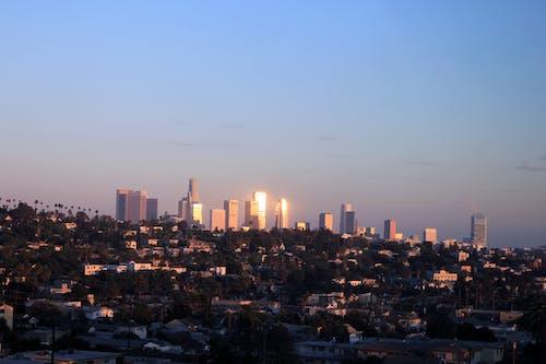 Δωρεάν στοκ φωτογραφιών με Los Angeles, δύση του ηλίου