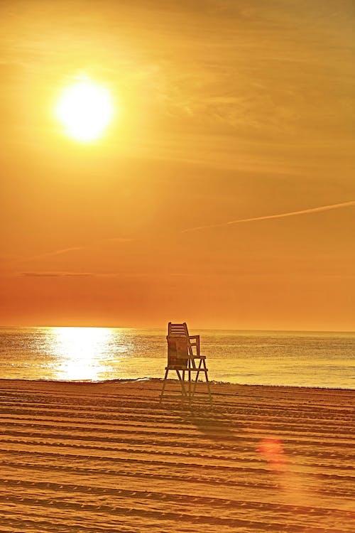 Δωρεάν στοκ φωτογραφιών με Ανατολή ηλίου, ατλαντικός, ναυαγοσώστη, ναυαγοσώστης