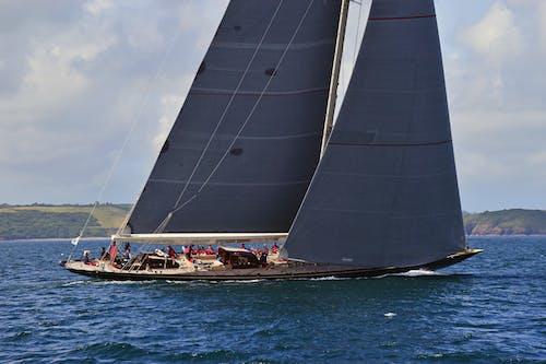 Darmowe zdjęcie z galerii z j-klasa, jacht, morze, żaglówki