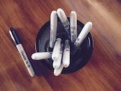 pens, pencils