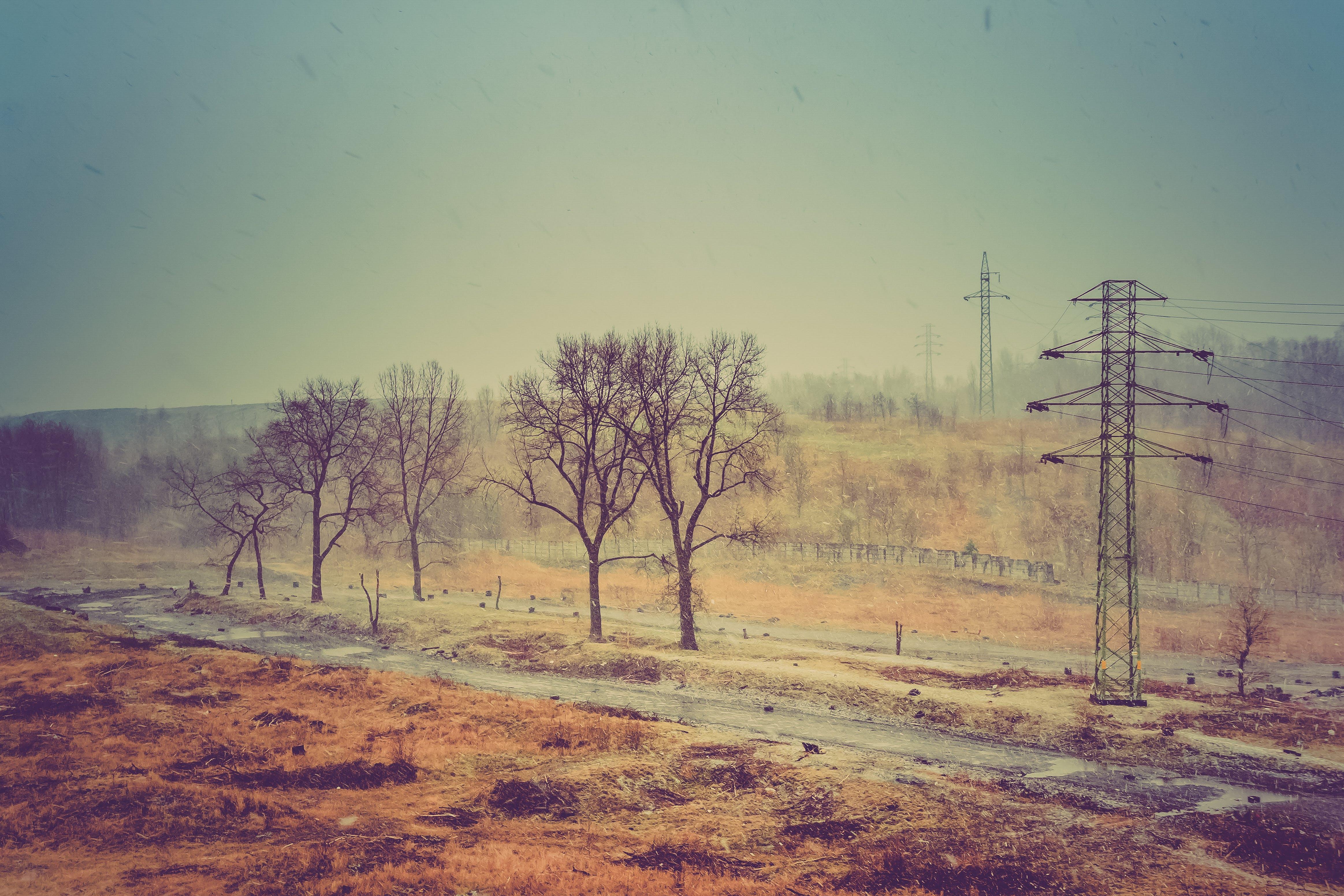 Free stock photo of landscape, silesia, snow, view