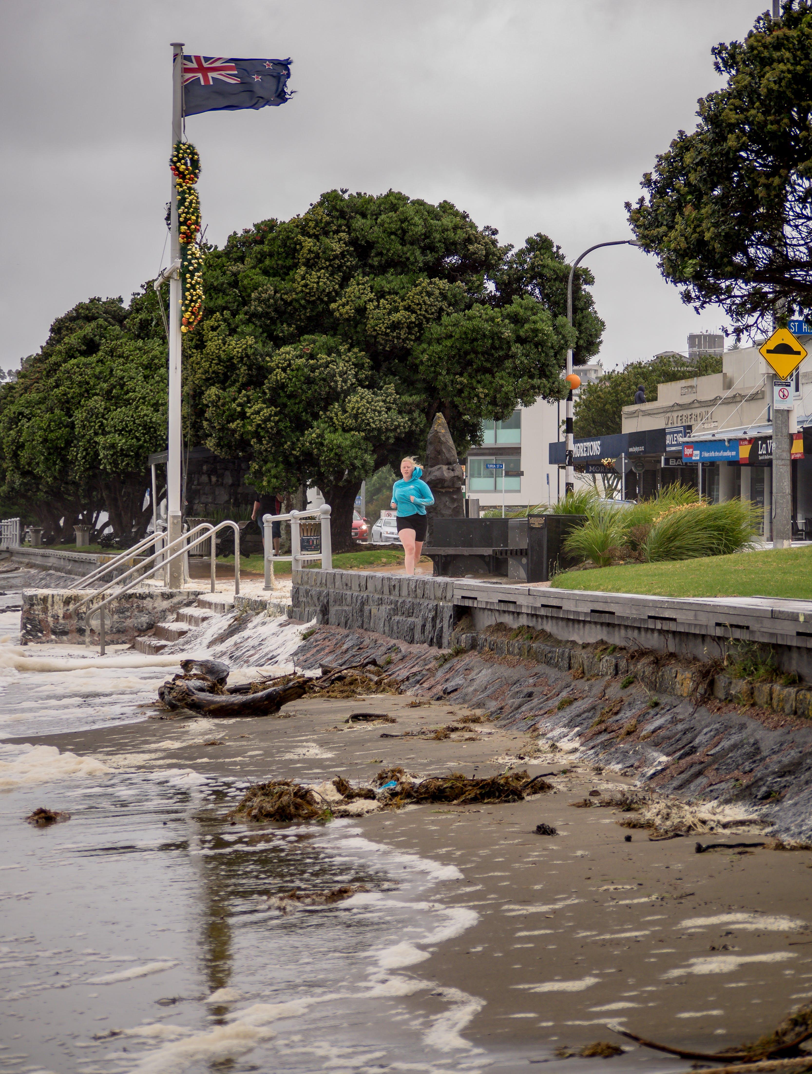 Free stock photo of auckland, rain, sea, storm