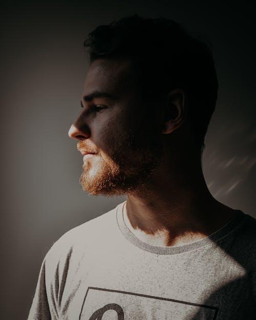 Free stock photo of beard, boy, dark