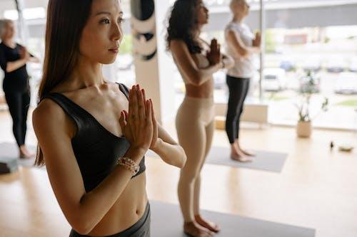 Darmowe zdjęcie z galerii z asana, azjatka, ćwiczenie