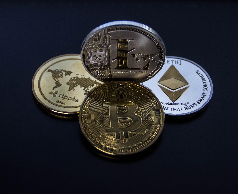 Gratis lagerfoto af bitcoin, close-up, finans, guld