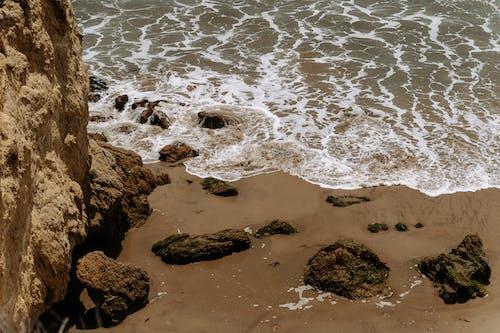 Imagine de stoc gratuită din faleză, mal, nisip