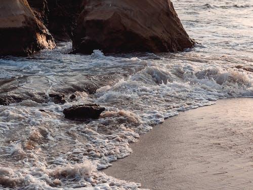 Immagine gratuita di bagnasciuga, litorale, mare