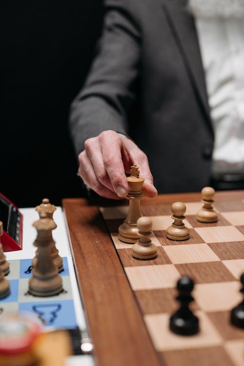 Základová fotografie zdarma na téma desková hra, hraní, král