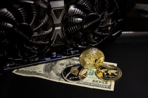 Free stock photo of 100 dollar bill, asset, bank