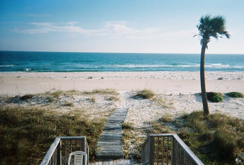 Free stock photo of beach, empty beach, florida