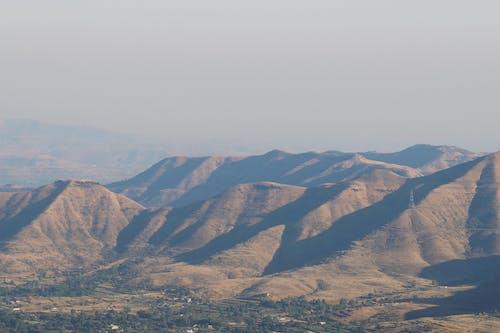 Free stock photo of brown, grassland, india, mountain range