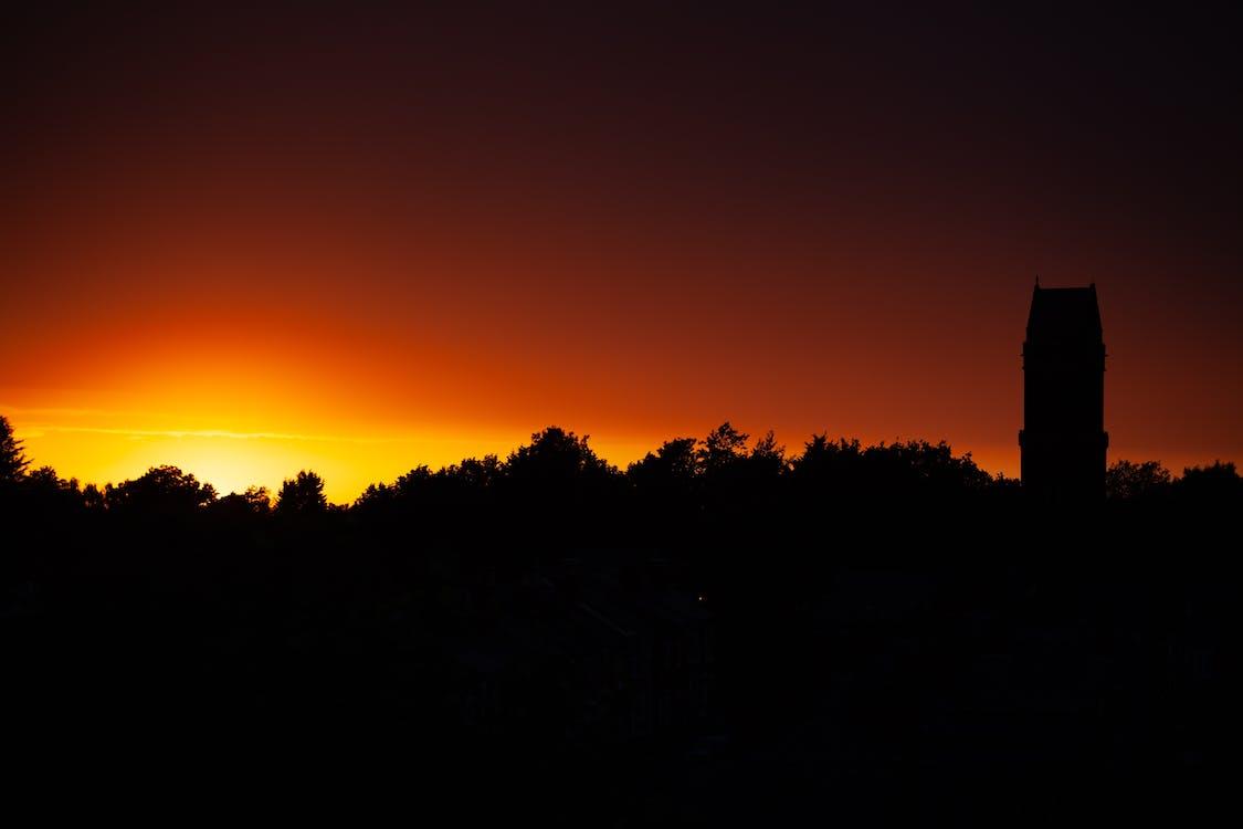 Immagine gratuita di cielo, colori, profilo