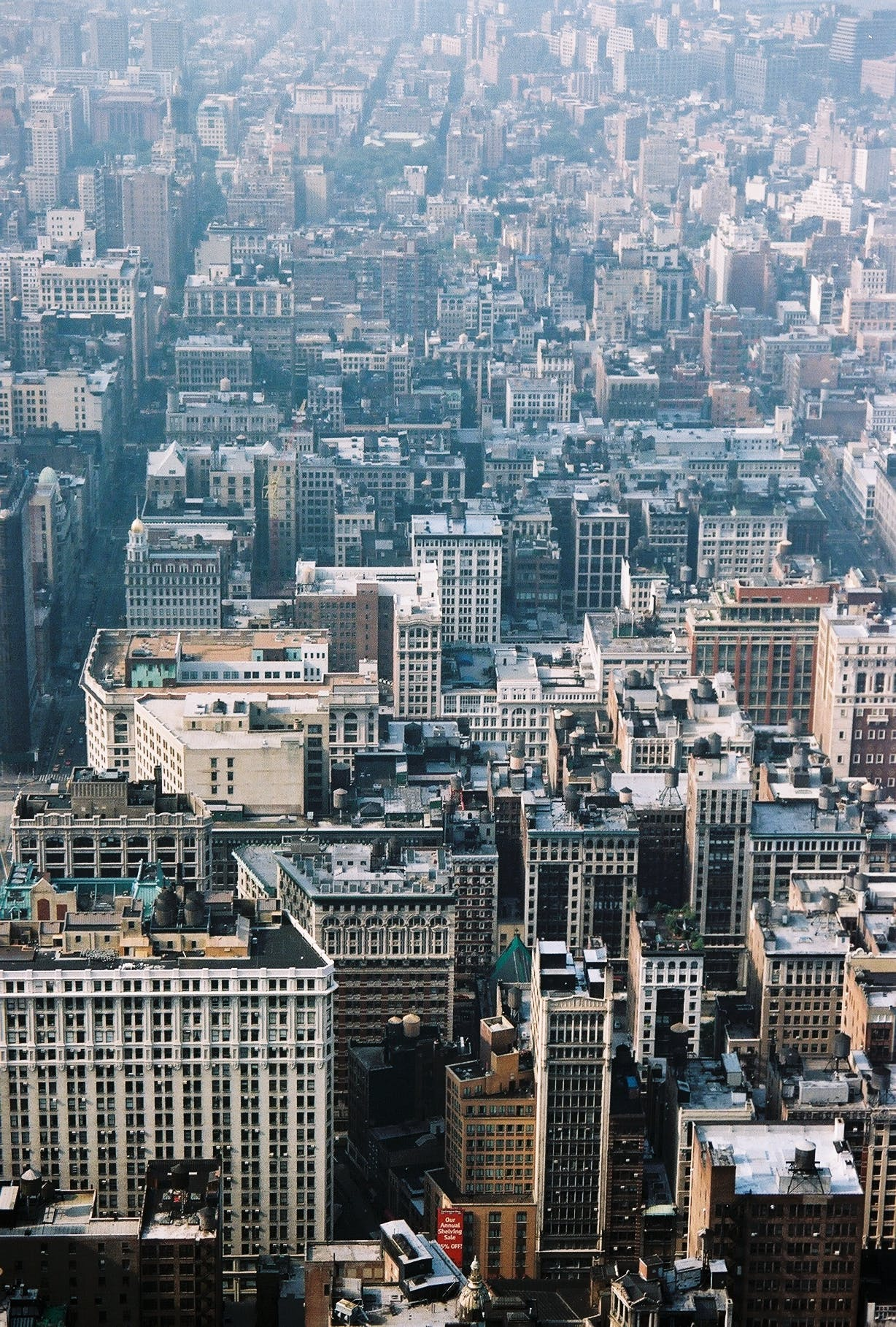 City Buildings Aerial Photography