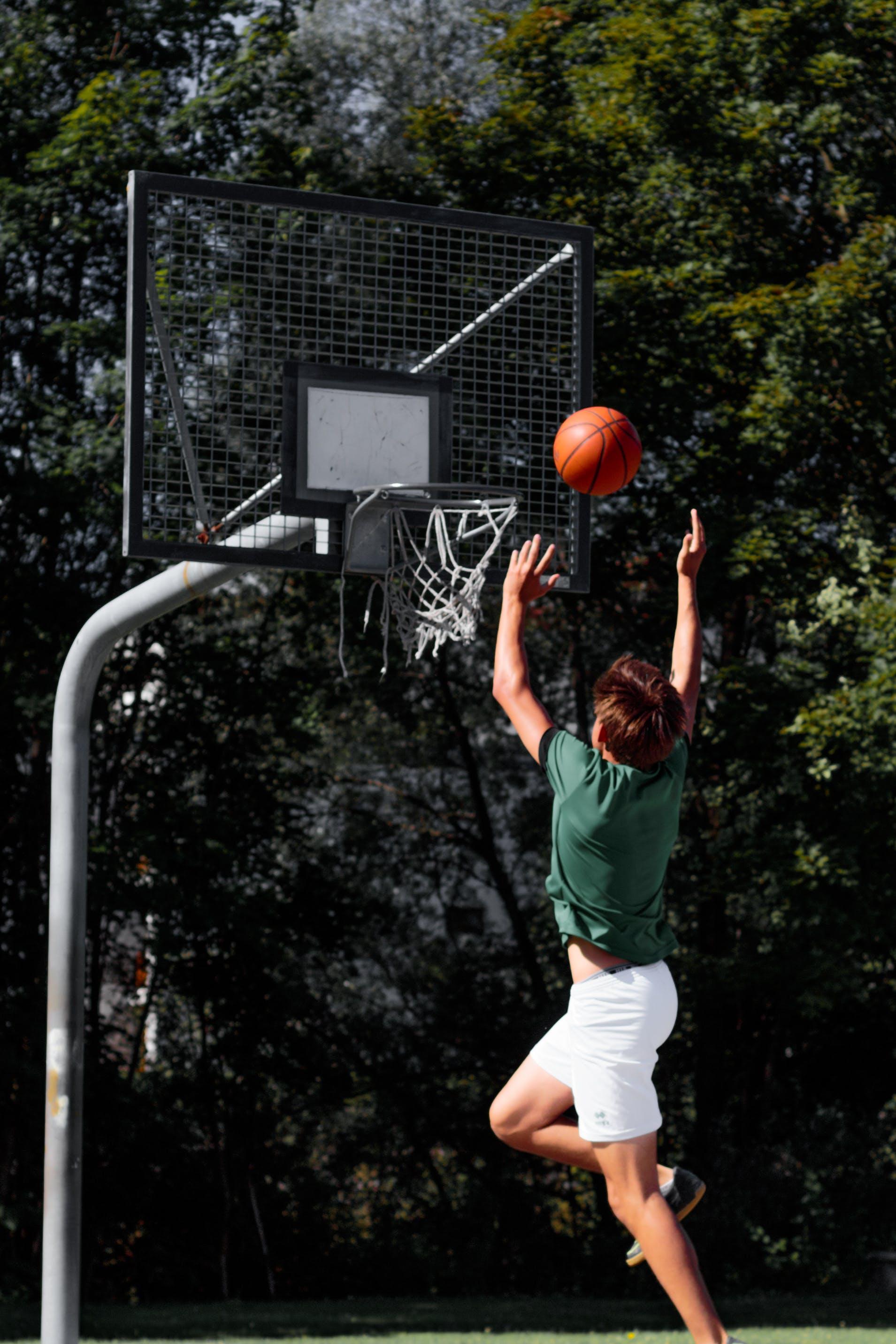 Free stock photo of basketball, basketball court, enjoyment, fun