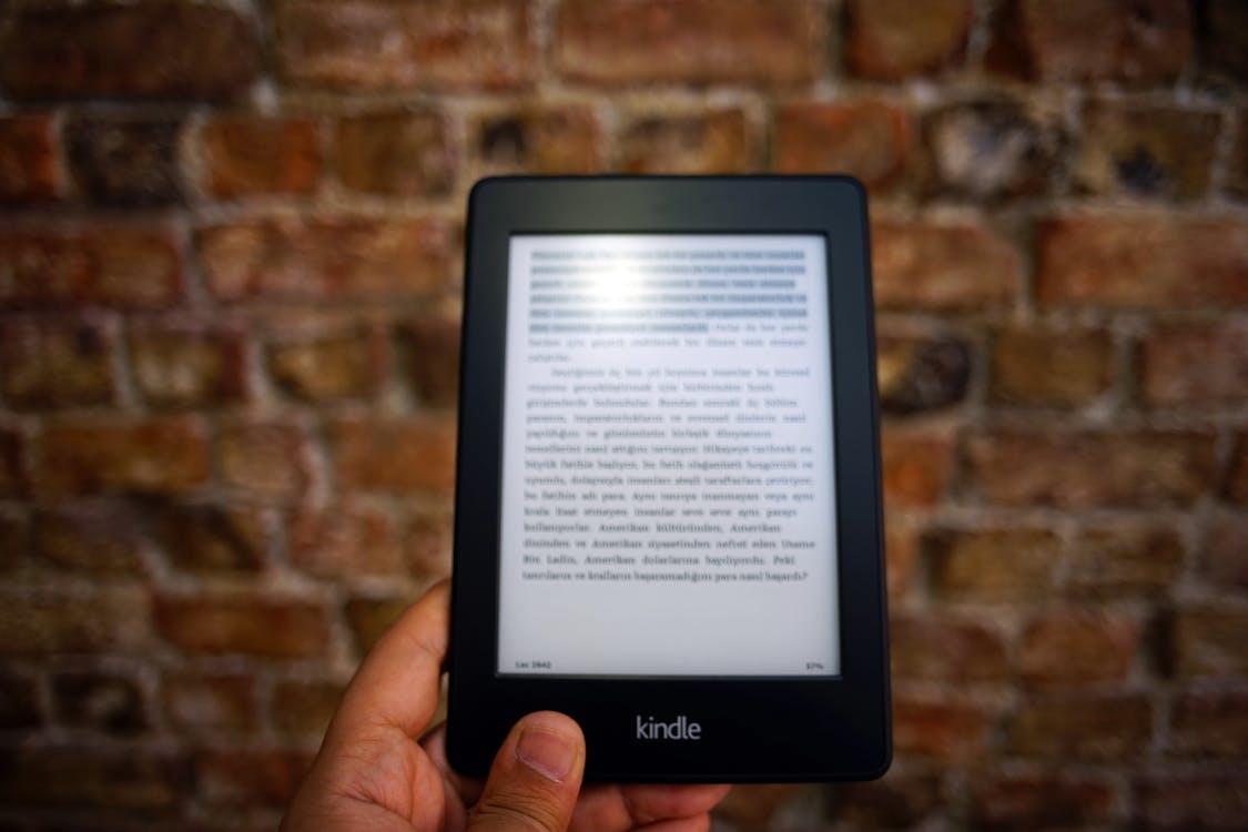 e-book, ebook, kindle