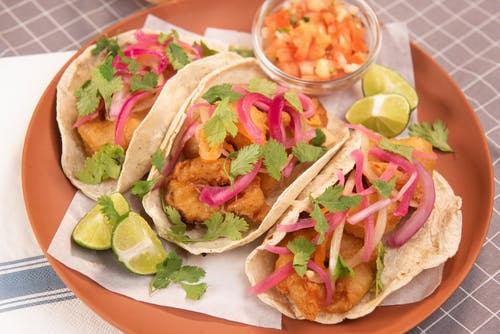 Close-Up Photo of Mouth-Watering Tacos