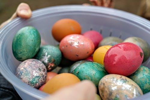 Fotobanka sbezplatnými fotkami na tému veľkonočné vajíčka, Veselú Veľkú noc